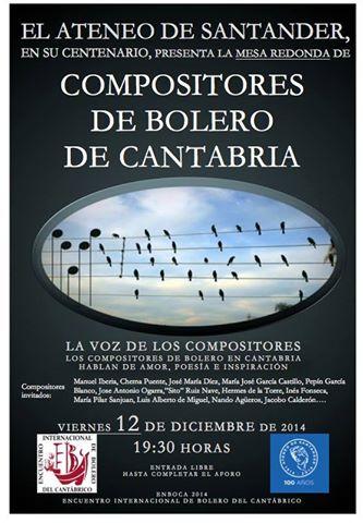 2014 diciembre 12 - Compositores de Bolero de Cantabria